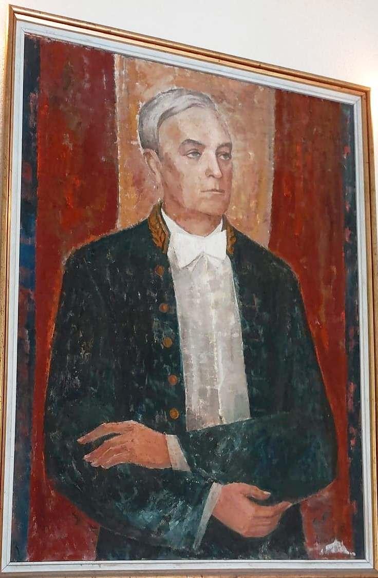 Portret Liviu Rebreanu