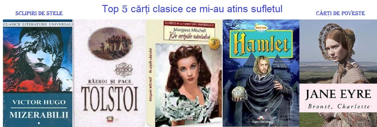 Top 5 cărți clasice